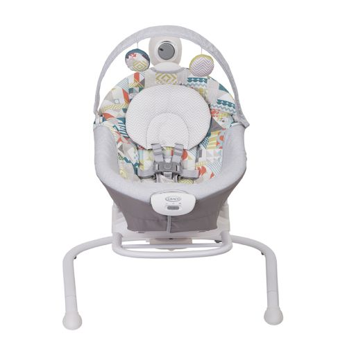 Graco Duet Sway baby swing front view